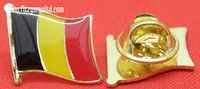 Belgium Country Flag - Enamel Lapel / Hat / Cap / Tie Pin Badge #1 - Belgian New